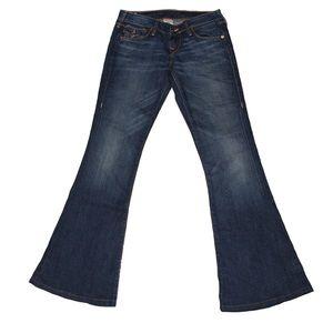 True religion Carrie bell bottom jeans